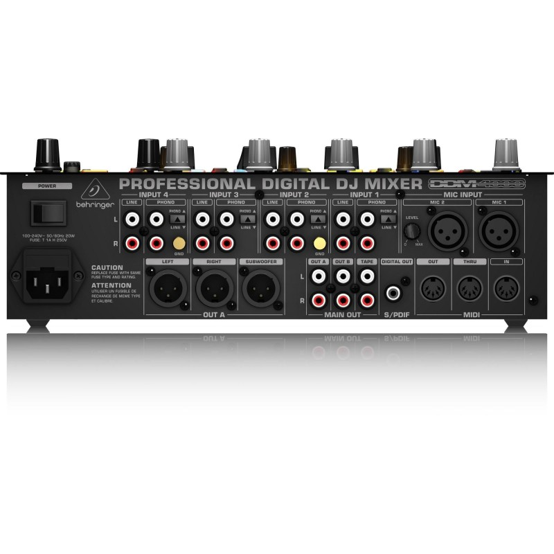Behringer DDM4000 Mixer dj 5 canali con dual beat synch