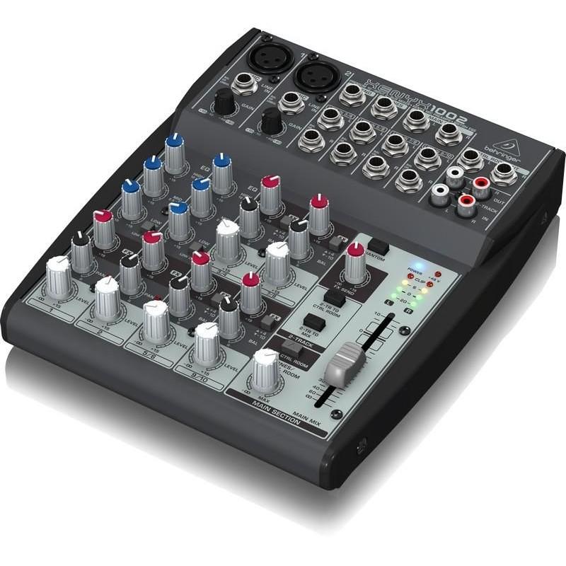 Behringer Xenyx 1002 Mixer analogico con 10 ingressi