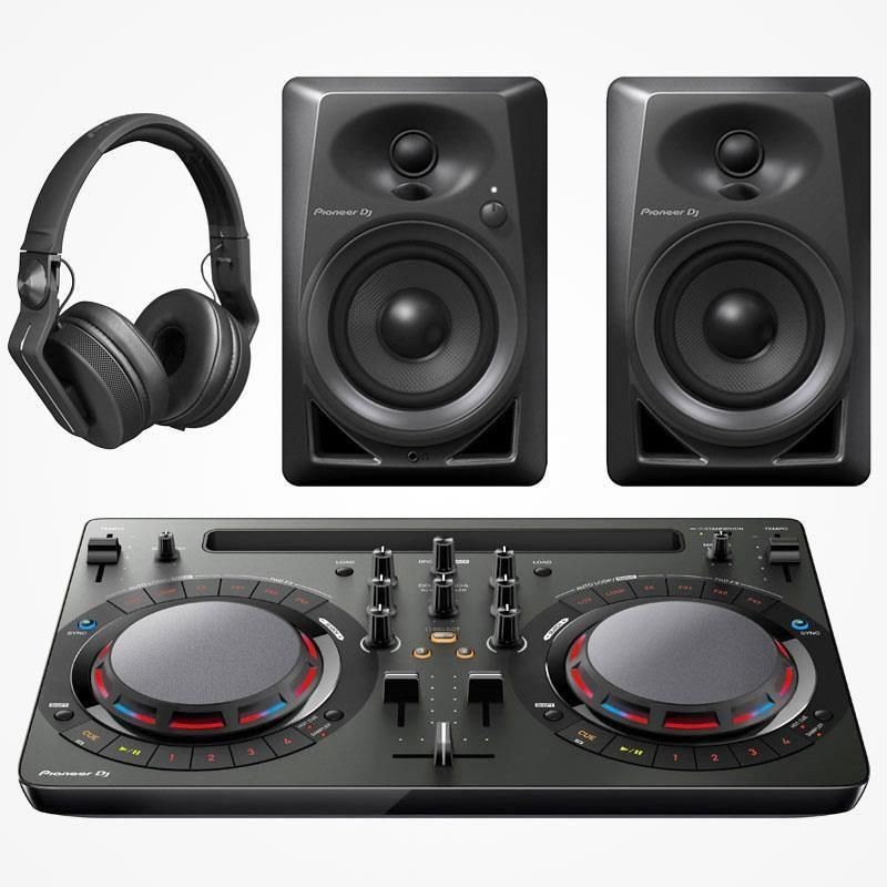 Pioneer DJ Starter Pack DDJ-WeGO4
