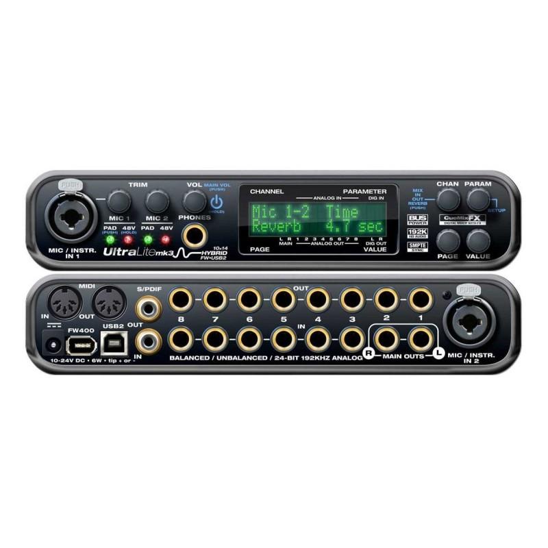 Motu Ultralite Mk3 Interfaccia Audio Ibrida Firewire/usb Strumenti Musicali Interfacce Audio, Midi