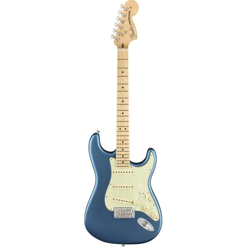 Fender American Performer Stratocaster MN Satin Lake Placid Blue Con Gig Bag