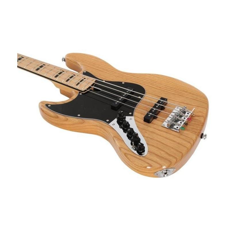 Marcus Miller V7 Vintage Swamp Ash 4 NT Natural Left Handed 2nd Gen
