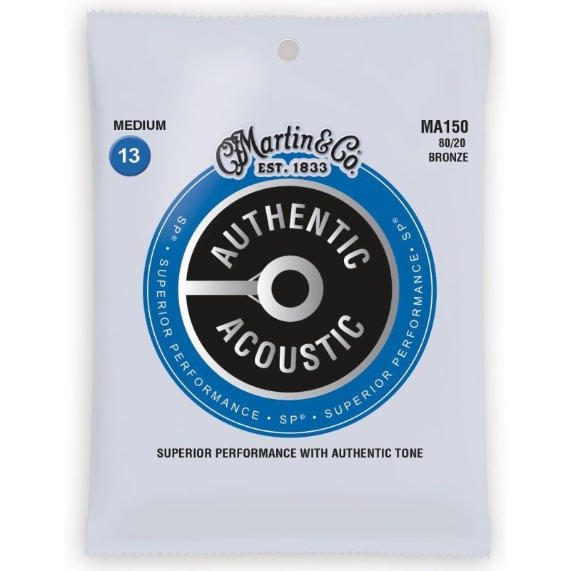 Martin MA150PK3 Bronze Authentic Acoustic SP Medium 3 Pack