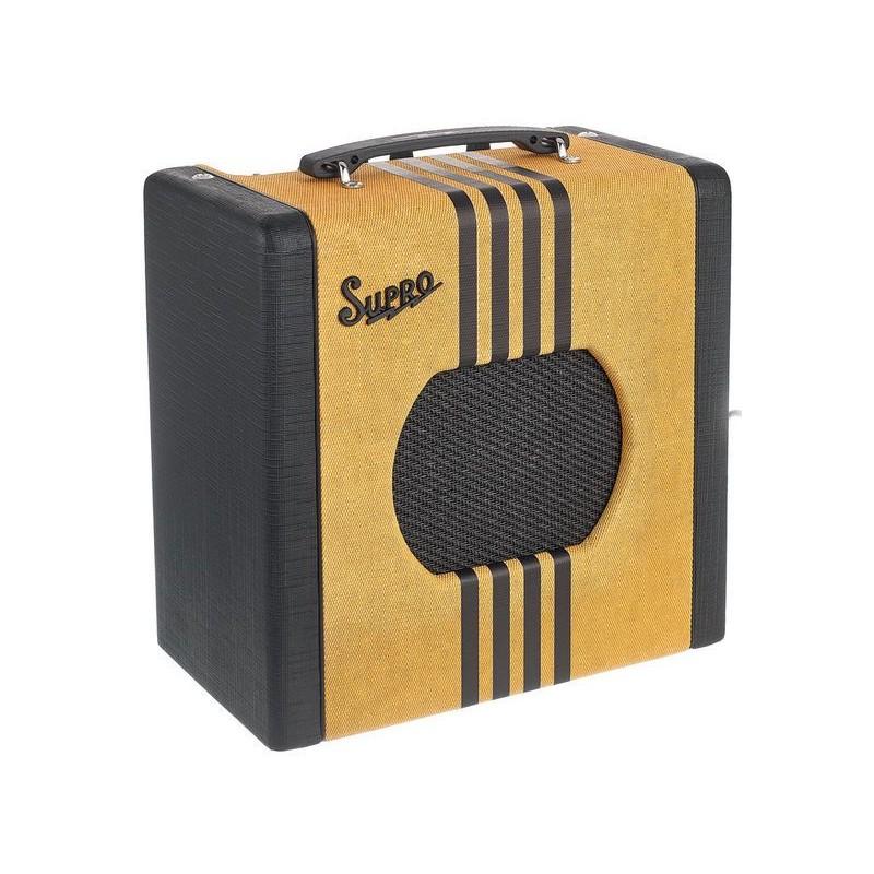 Supro Delta King 8 Tweed & Black