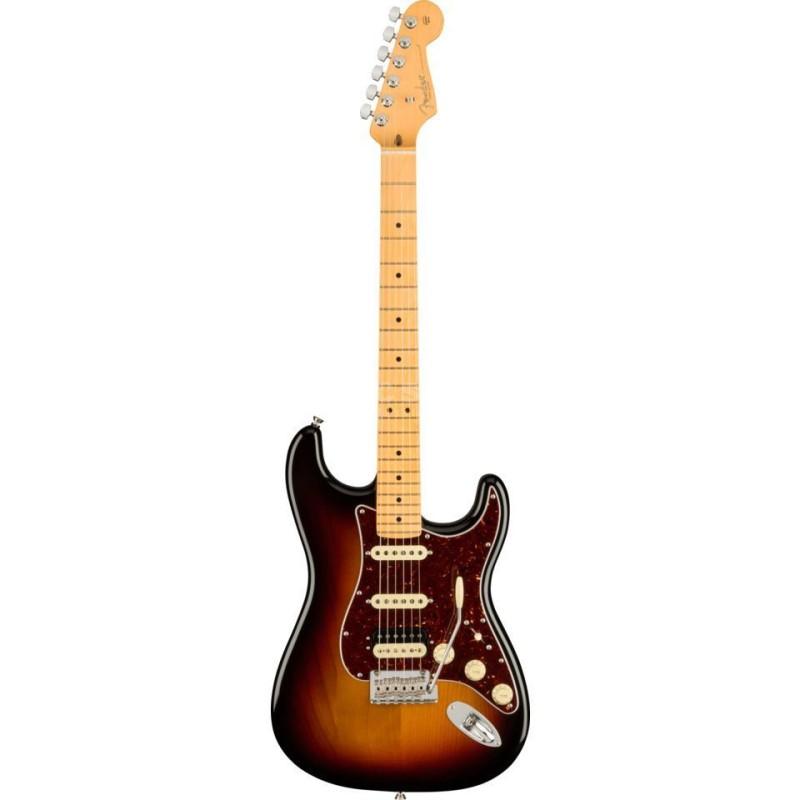 Fender American Professional II Stratocaster HSS Maple Fingerboard 3-Color Sunburst