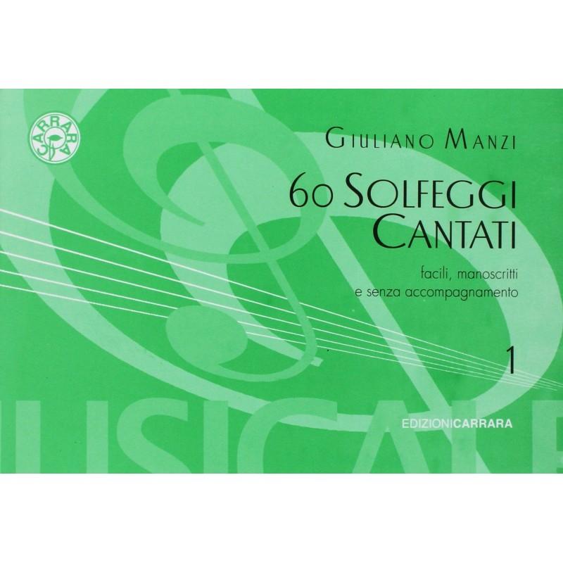 60 Solfeggi Cantati Volume 1 Manzi