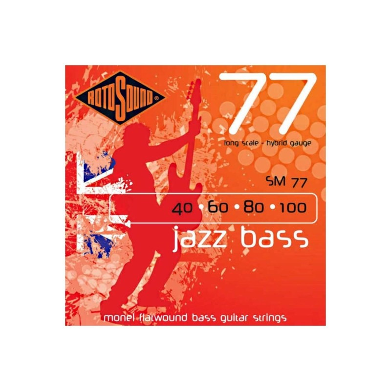 Rotosound SM77 Jazz Bass 77 40-100